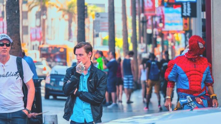 Photo: Flavia Caldas // Location: Sidewalk of Fame, Hollywood Boulevard